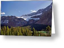 Crowfoot Glacier, Banff National Park Greeting Card