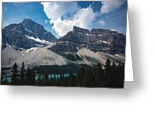 Crowfoot Mountain Greeting Card