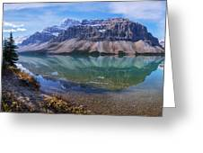 Crowfoot Reflection Greeting Card