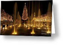 Crown Center Christmas 2 Greeting Card