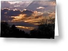 Crown Cloud Greeting Card