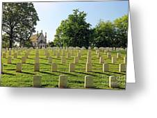 Crown Hill National Cemetery, Indianapolis, Indiana Greeting Card
