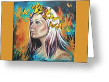 Crown Of Transformation Greeting Card