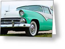 Crown Victoria Greeting Card
