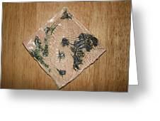 Crowned - Tile Greeting Card
