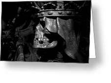 Crowned Death II Greeting Card