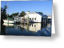 Crowninshield Boat House Greeting Card