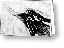 Crows  Fall Greeting Card