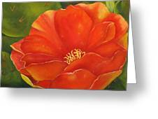 Cruces Bloom Greeting Card