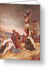 Crucifixion Greeting Card by William Brassey Hole