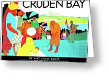 Cruden Bay, Golf Club, East Coast Route Greeting Card