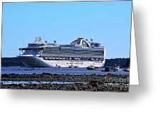 Cruise Ship Bar Harbor Photograph By Patti Whitten - Cruise ship bar harbor