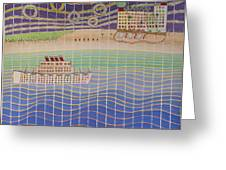 Cruise Vacation Destination Greeting Card