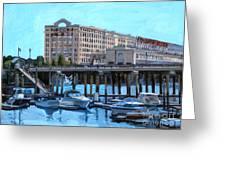 Cruiseport Boston Greeting Card