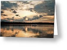 Cruising, Eagle Lake, Almaguin Highlands, Ontario Greeting Card