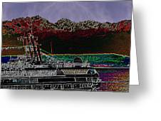 Cruising Puget Sound Greeting Card