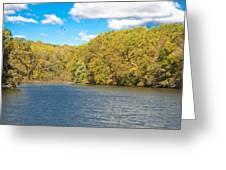 Crum Creek In Autumn Greeting Card