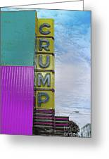 Crump Water Greeting Card