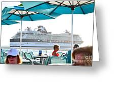 Cruse Float By Greeting Card