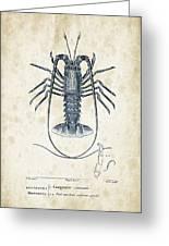 Crustaceans - 1825 - 30 Greeting Card