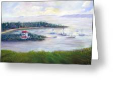 Cruz Bay Remembered Greeting Card