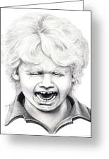 Cry Baby Greeting Card