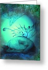 Crying Fairy Greeting Card
