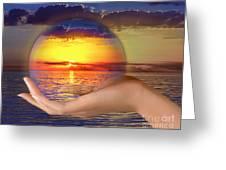 Crystal Ball Greeting Card