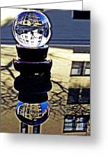 Crystal Ball Project 62 Greeting Card