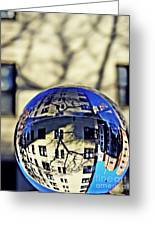 Crystal Ball Project 63 Greeting Card