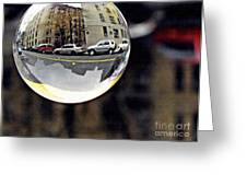 Crystal Ball Project 89 Greeting Card