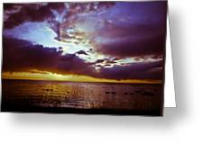 Crystal Beach Greeting Card by Jason Naudi Photography