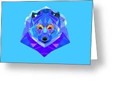 Crystal Bear - 90 Greeting Card