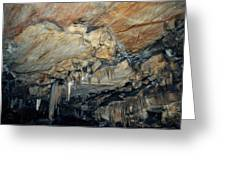 Crystal Cave Marble Greeting Card