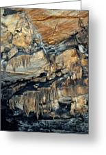 Crystal Cave Marble Sequoia Portrait Greeting Card