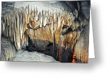 Crystal Cave Waves Greeting Card