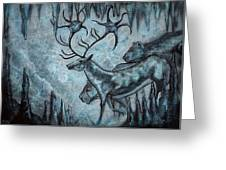 Crystal Cavern Procession Greeting Card
