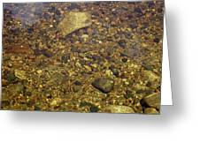 Crystal Clear Waters Greeting Card