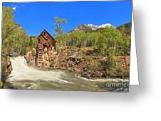 Crystal Colorado Dead Horse Mill Greeting Card