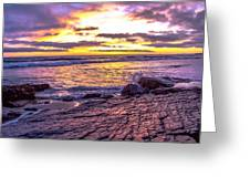 Crystal Cove Skyfire Greeting Card