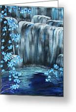 Crystal Falls Greeting Card
