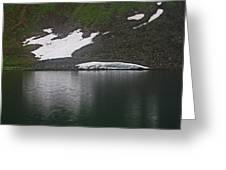 Crystal Lake Colorado Greeting Card