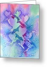 Crystal Migration Greeting Card