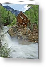 Crystal Mill Swirls Greeting Card