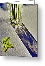 Crystal Reflections Greeting Card