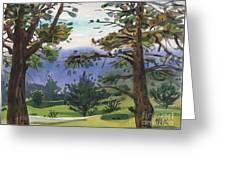 Crystal Springs Fairway Greeting Card