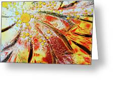 Crystal Sunburst Greeting Card
