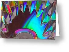 Crystal Teeth Greeting Card