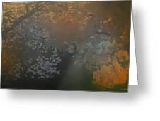 Crystal Tree Top Greeting Card