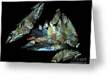 Crystalize Greeting Card